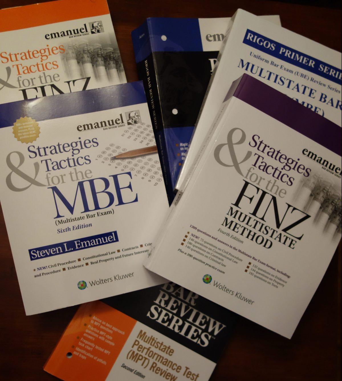 Bar Exam Preparation Materials – Advice from The Bar Professor